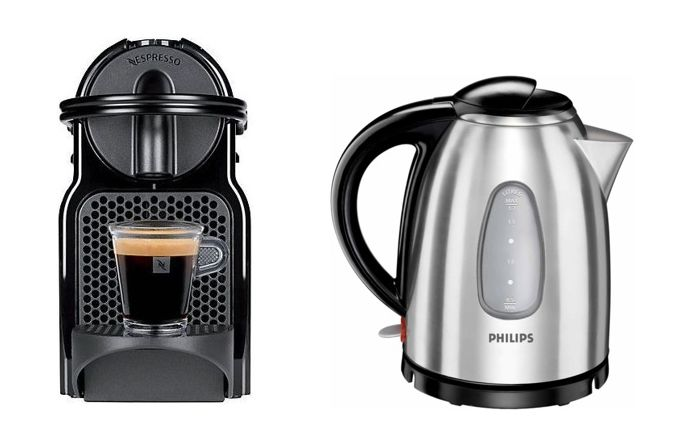 Philips Coffee Maker Kettle : MEGA DEAL: Nespresso Inissia Coffee Machine + Philips Kettle 2400W 1.7Litres with Water level ...