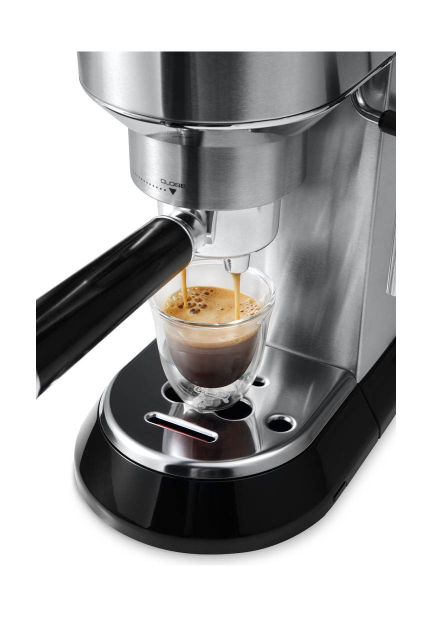 Delonghi Coffee Maker In Ksa : Delonghi 1540W Dedica Pump-Driven Coffee Maker (DLEC680.M) Metal Xcite Alghanim Electronics ...
